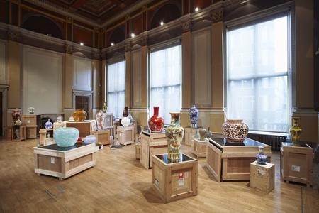 Installation view of Translation Series - Vase