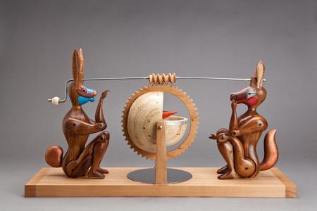 El Conejo y el Coyote Caja de El conejo y el Coyote