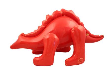 Large Red Stegosaurus