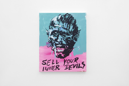 Untitled Painting (Sell Your Inner Devils)