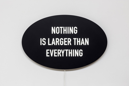 Nothing is Larger Than Everything