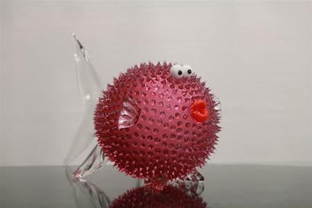 Blow fish pink