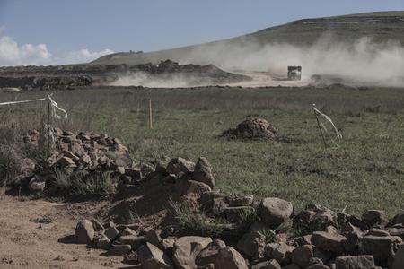 Driefontein mine expansion potentially threatening a gravesite.