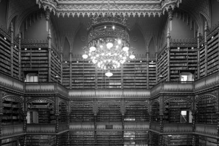 O lustre do Real Gabinete Português de Leitura