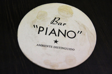 Bar Piano II (Mahogany Baby Grand), 2014