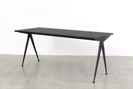 """Cafétéria n°512 table, a.k.a """"Compas"""" table"""