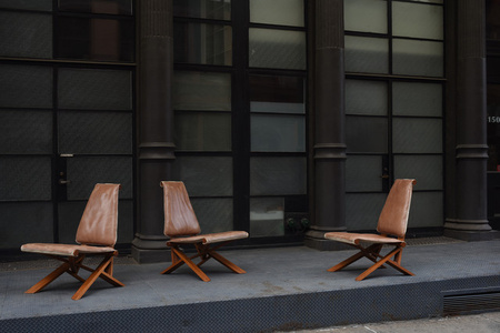 """Pair of  """"S46Y"""" chairs"""