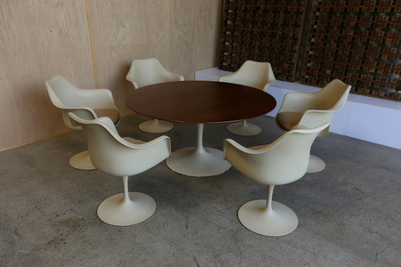 Dining Set by Eero Saarinen for Koll