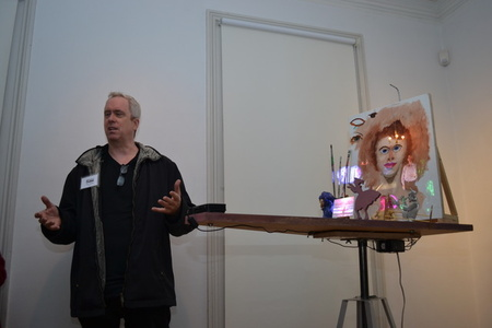Tony Oursler: hopped (popped)