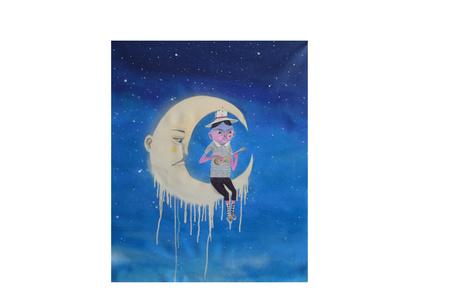 """""""Fiz uma serenata para a lua, ela se derreteu toda por mim"""""""