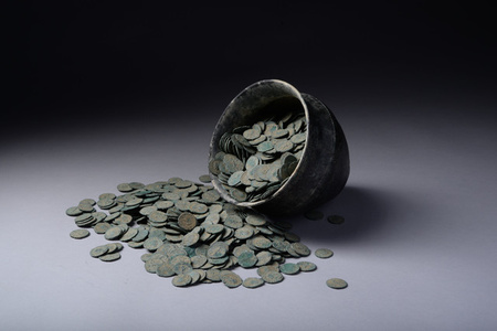Hoard of Coins of Emperor Victorinus