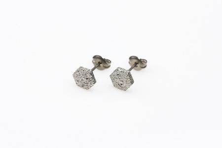 Lunar Hex Earrings