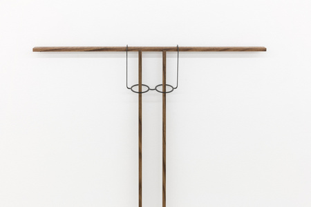 Untitled (eyeglass rest, fixed) (detail)