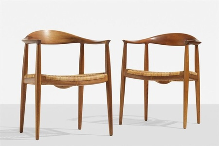 "Set of two ""The Chair"" dining chairs"