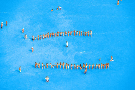 Adriatic Sea (Staged) Dancing People 15