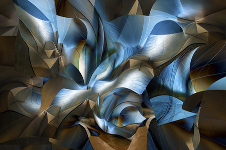 Disney Hall Abstraction 01