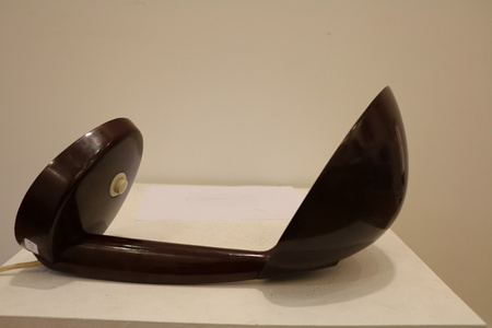 Rare Kandem Bakelite Table Lamp Attributed to Marianne Brandt, circa 1945