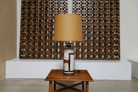 Ceramic Table Lamp by Guido Gambone