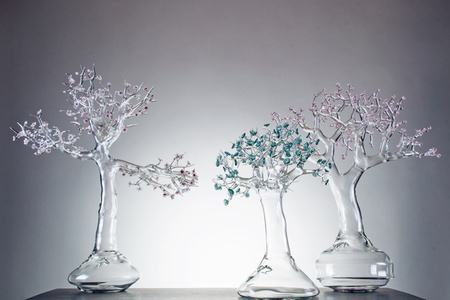 Blossom Glass Bonsai