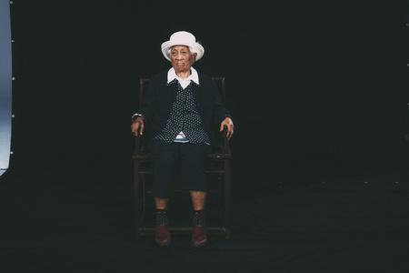 〈103歲肖像-孫貴花〉