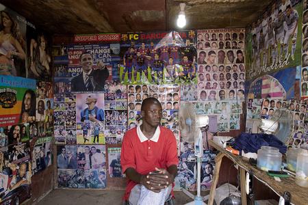Barbers, Bamako #6