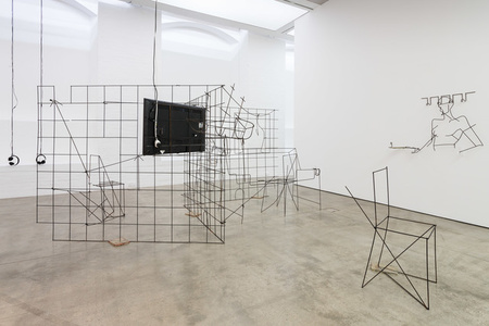Installation view of Counting on People