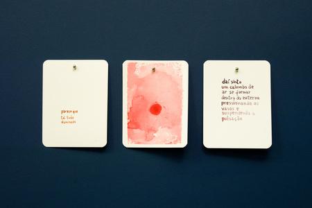 GMA (Baralho Urgência) - da série Um lance de Cartas [GMA (Urgency Cards) - A Trow of Cards series