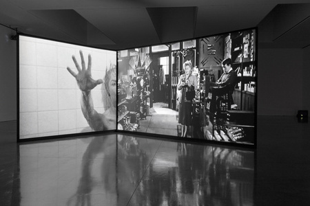 Douglas Gordon: back and forth and forth and back