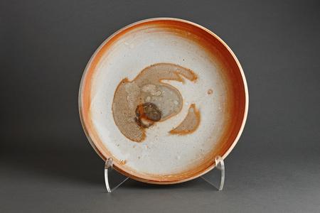 Plate, feldspar glaze