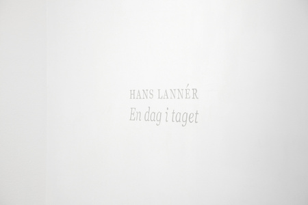 Hans Lannér: One Day at a Time