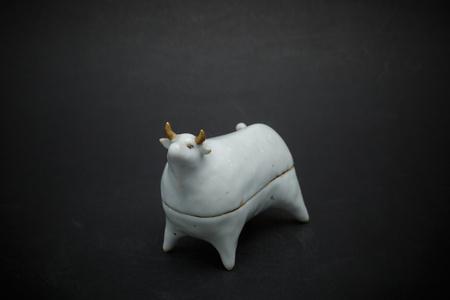 24. White cow