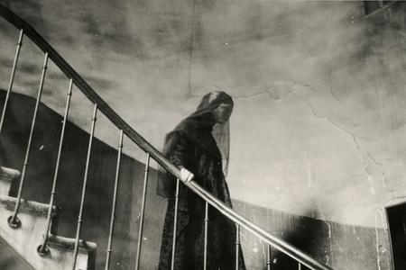 Comme des Garcons, Escalier dans Passage Vivienne, Paris, November, 1980
