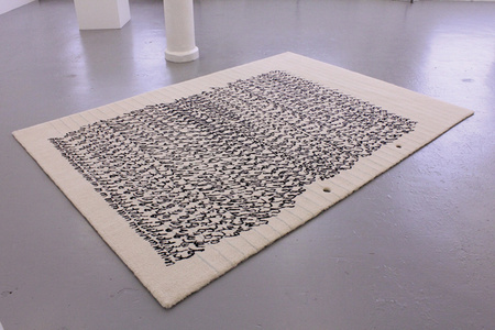 fig.a, a comme alphabet (carpet, 2012)