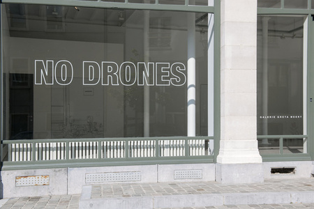 "Louise Lawler - ""NO DRONES"""
