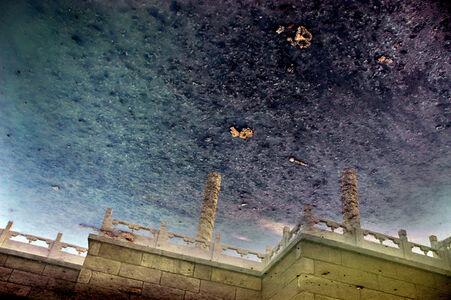 Coiled Dragon Pillars: Urban Amber