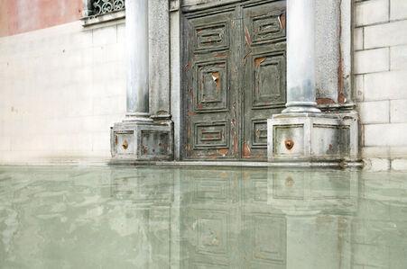 When water begins #1 (Encrusted door)