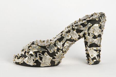 Female Fetish: Open-toe Shoe