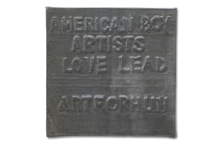 Untitled (American Boy Artists Love Lead)