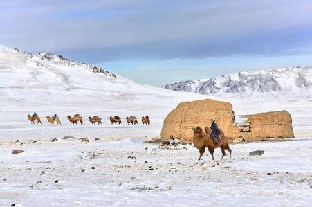 """Ruins"" [Altayn Tavan Bogd south, Mongolia]"