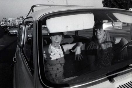 Untitled (from the series People in Cars)