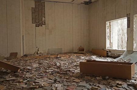 Fieldnote 25-03-14 (Pripyat, Chernobyl)