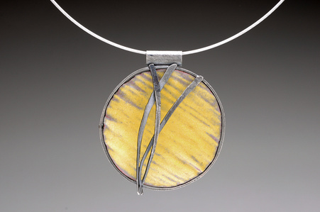 Yellow Grasses Necklace