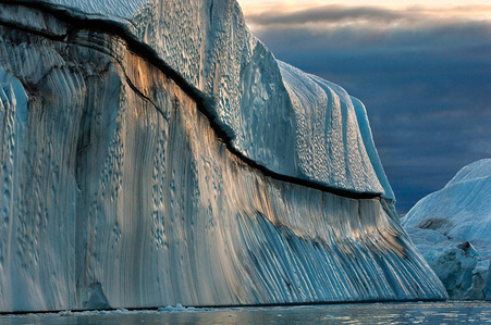 Copper Iceberg, Disko Bay, Greenland, 2007