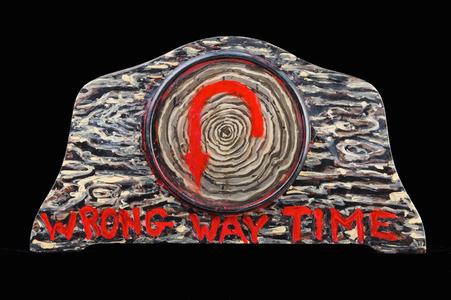Wrong Way Time (detail)