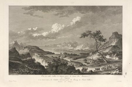 Vu‰ du Vallon de Sybaris