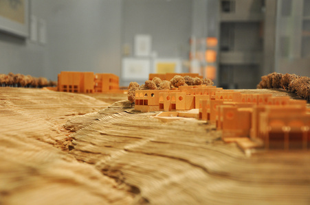 Salk Institute for Biological Studies (model)