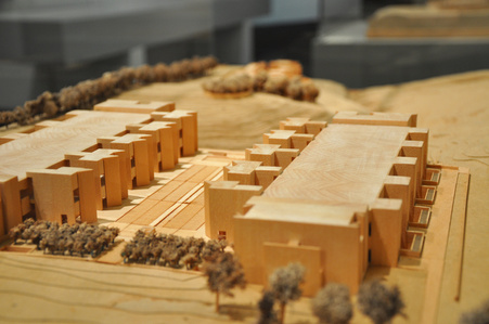 The Salk Institute for Biological Studies (model)