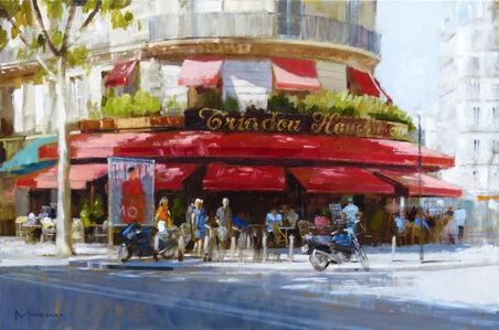 Brasserie Triadou, Boulevard Haussmann, Paris