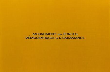 Mouvement des Forces Democratiques du le Casamance (from the sereis Divine Violence)