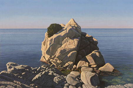 Rock And Seascape